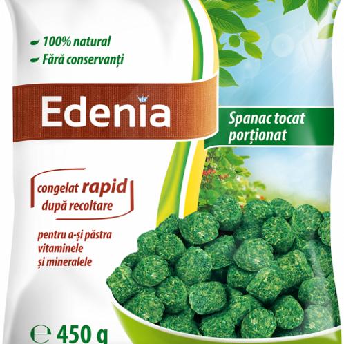 Edenia Spanac Tocat Proportionat - 450g