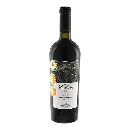 Purcari - Vinohora Vin Rosu Sec  0,75