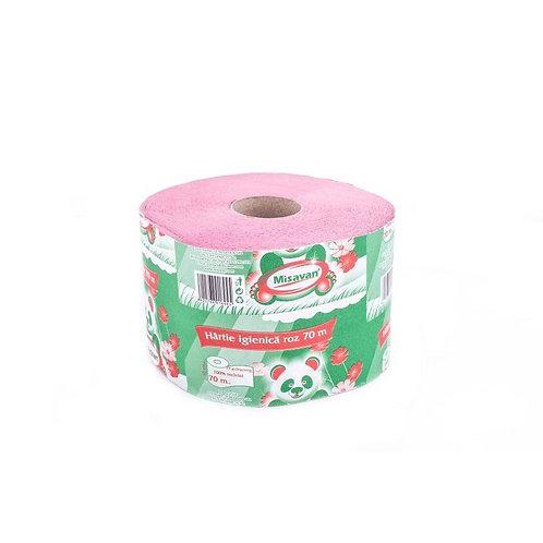 Hartie igienica roz - Misavan - 70m