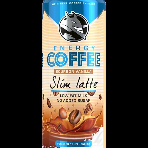 Energy coffee slim latte - HELL - 250ml