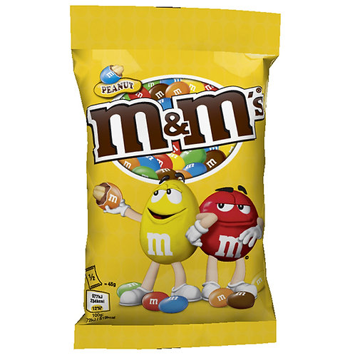 M&M s Peanut - 90 gr