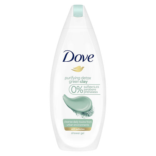 Dove Gel de Dus Green Clay - 500ml