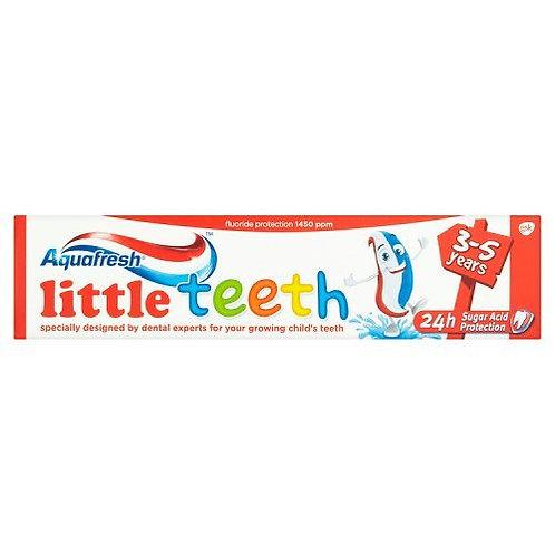 Aquafresh Littel Teeth 3-5 ani - 50ml