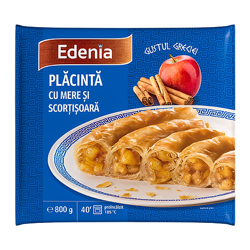 Edenia Placinta cu Mere si Scortisoara - 800g