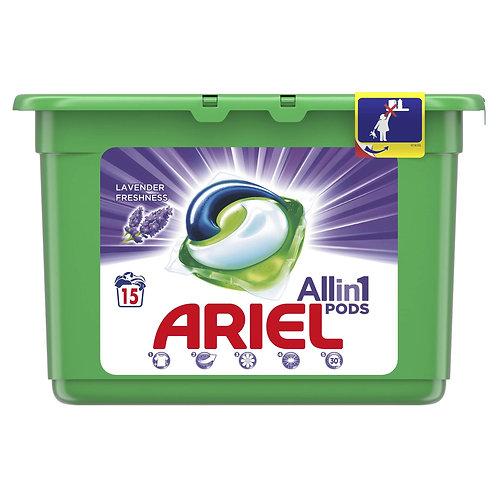 Ariel Detergent Lichid Capsule 15buc