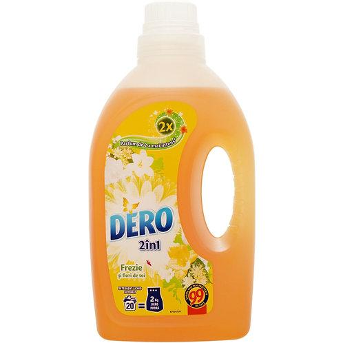 Dero 2 in 1 Detergent Lichid 1l