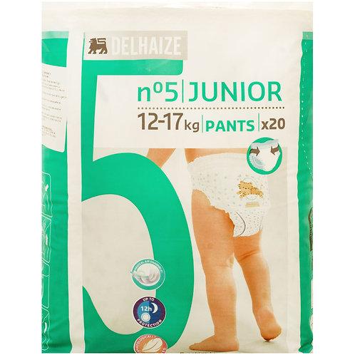Delhaize Scutece Chilot Junior nr 5 20buc