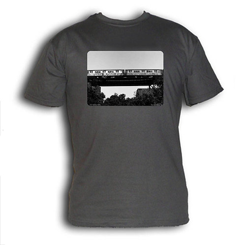 1980s NYC subway t-shirt - West Farms