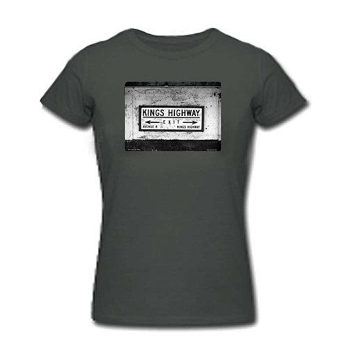 1980s NYC subway t-shirt - Kings Hwy