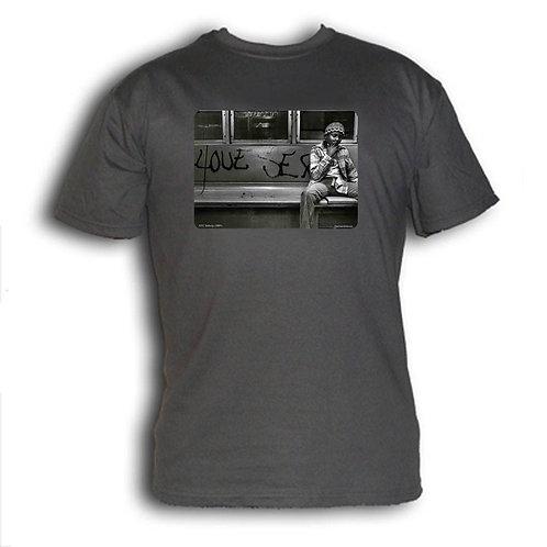1980s NYC subway t-shirt - Love Sex