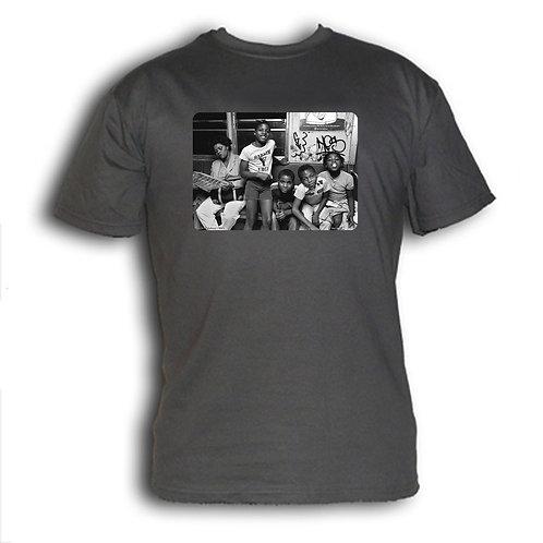 1980s NYC subway t-shirt - YMCA kids