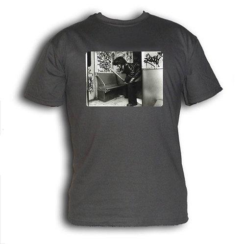 1980s NYC subway t-shirt - Halloween