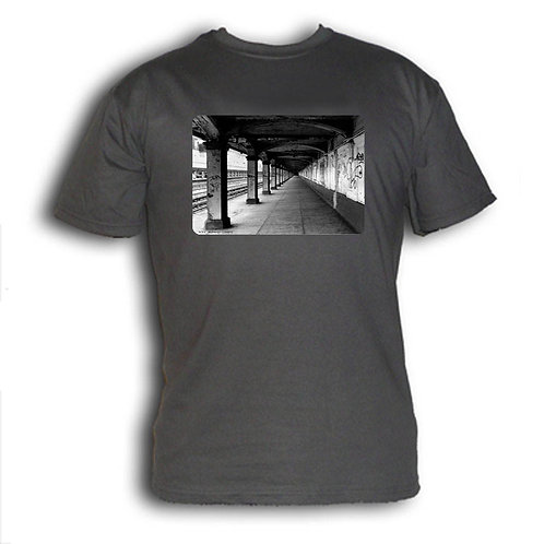 1980s NYC subway t-shirt - Get Out