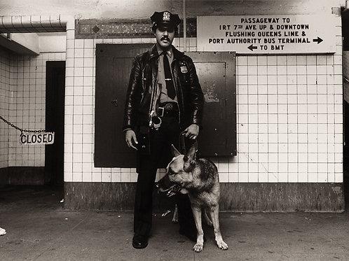 Photograph - Transit Cop
