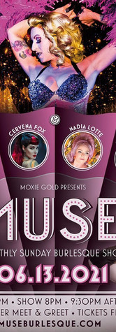 6/13 - Muse Burlesque