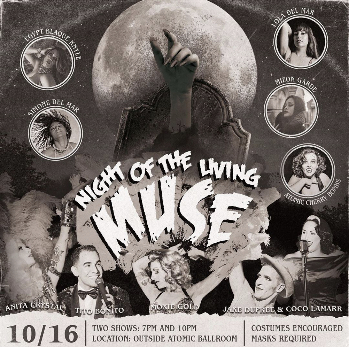 10/16 - Muse Burlesque