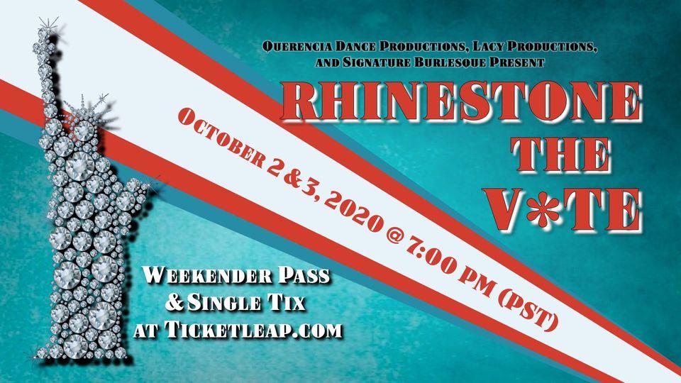10/2 - Rhinestone The Vote
