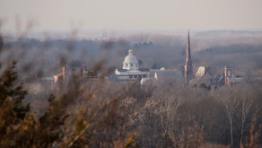 A View From The Top of The Mount, Albion, NY, January 2021