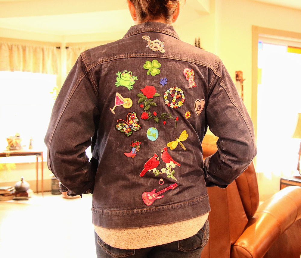 My Coat of Many Patches & Buttons