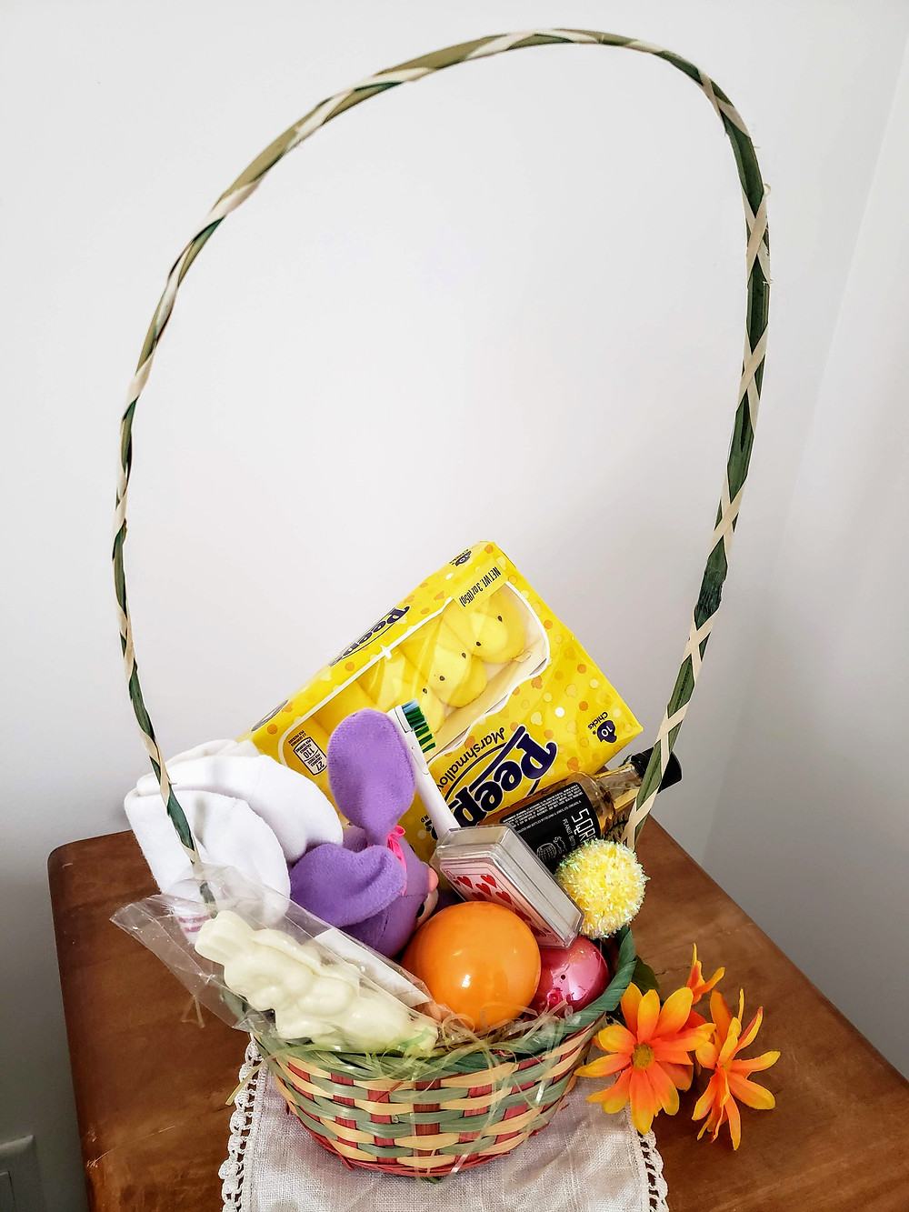 An Easter Basket Full Up With Goodies!