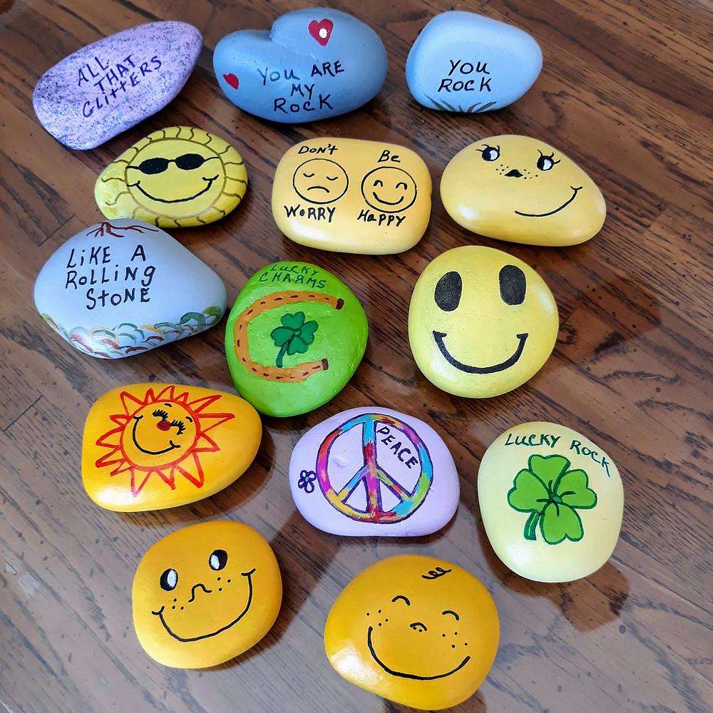 Rocks Spreading Smiles
