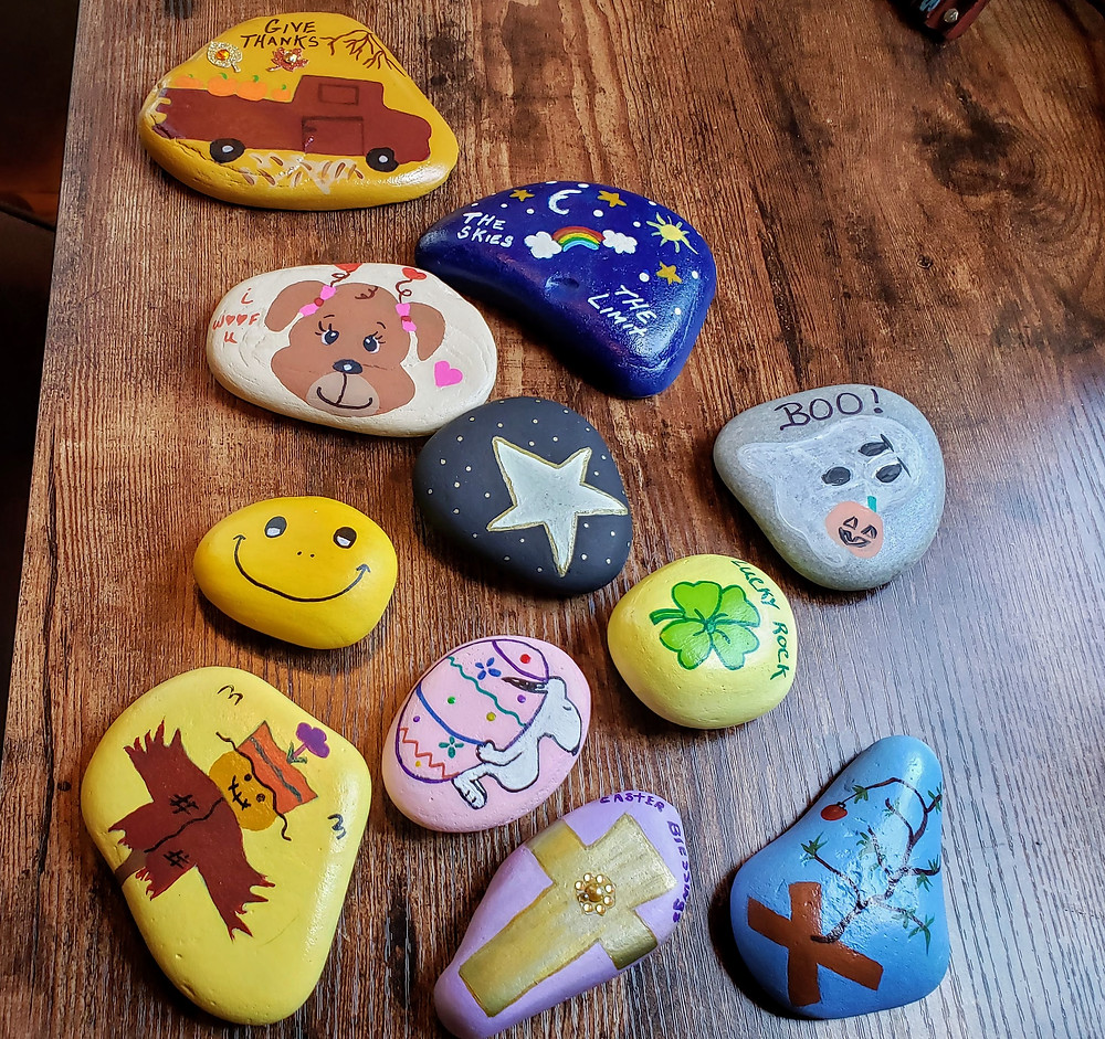Rocks Painted for Me!