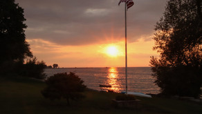A Lake Ontario Sunset Kent, NY August 2021