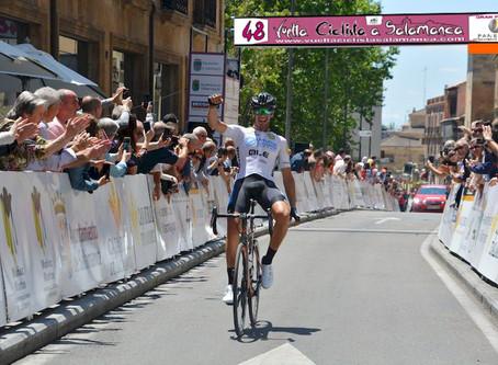Iván Martínez se lleva la una merecida 48 Vuelta a Salamanca 2019, la etapa para Felipe Orts.