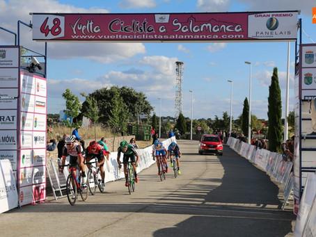 Eloy Teruel vence en la primera etapa de la Vuelta a Salamanca 2019