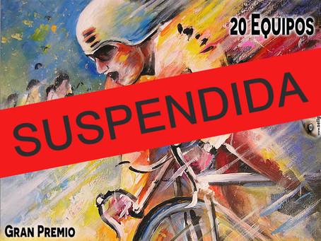 SUSPENDIDA LA 49 EDICIÓN DE LA VUELTA CICLISTA A SALAMANCA