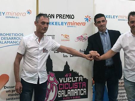 Berkeley Minera, patrocinador oficial de la Vuelta Ciclista a Salamanca Élite y Sub 23