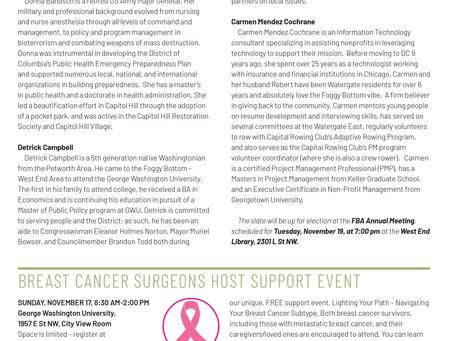 Foggy Bottom News PDF - November 8 Issue
