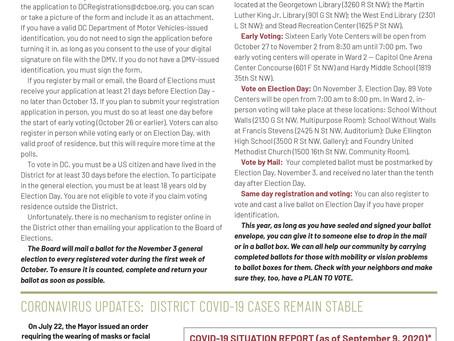 Foggy Bottom News PDF - September 11 Issue