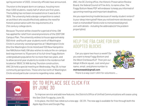 Foggy Bottom News PDF - June 7 Issue