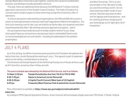Foggy Bottom News PDF - June 21 Issue