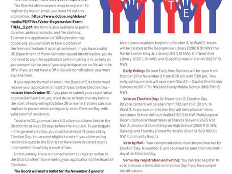 Foggy Bottom News PDF - September 18 Issue