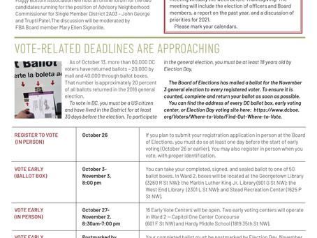 Foggy Bottom News PDF - October 16 Issue