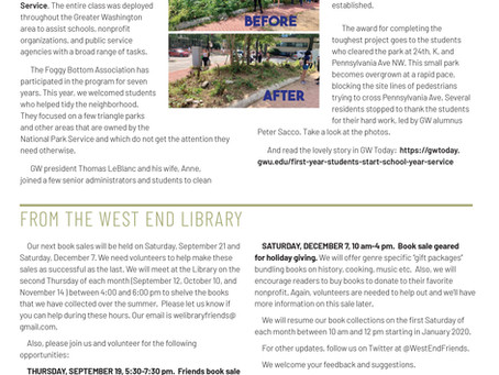Foggy Bottom News PDF - August 30 Issue