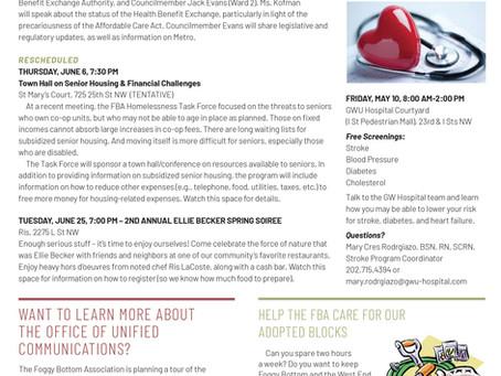 Foggy Bottom News PDF - May 10 Issue
