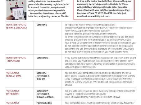 Foggy Bottom News PDF - October 9 Issue