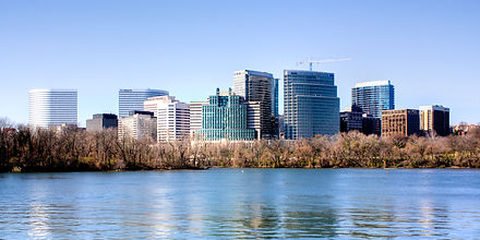 Potomac River, Northwest Washington, DC Fair Skies, Rosslyn
