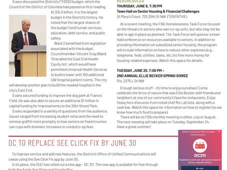 Foggy Bottom News PDF - May 24 Issue