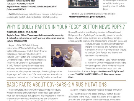 Foggy Bottom News PDF - March 5 Issue