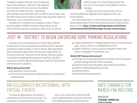 Foggy Bottom News PDF - March 12 Issue