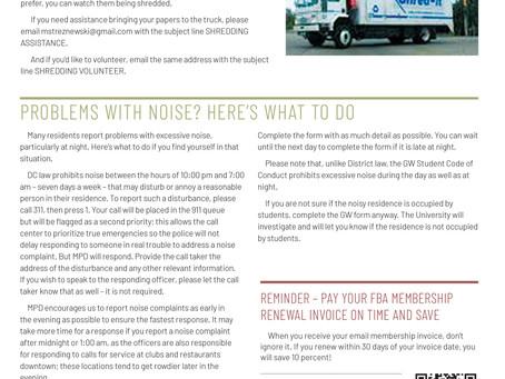 Foggy Bottom News PDF - September 20 Issue