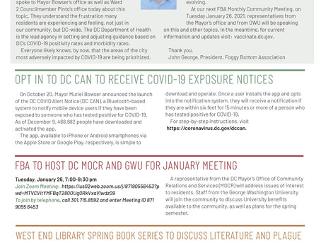 Foggy Bottom News PDF - January 22 Issue