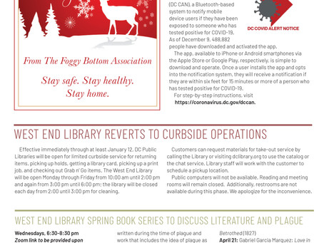 Foggy Bottom News PDF - December 25 Issue