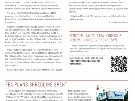 Foggy Bottom News PDF - October 18 Issue