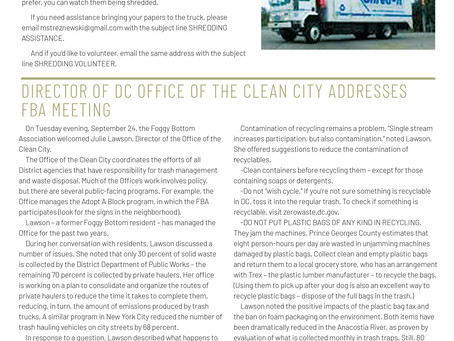 Foggy Bottom News PDF - September 27 Issue