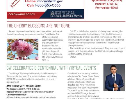 Foggy Bottom News PDF - April 9 Issue